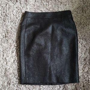 Banana Republic Textured Pencil Skirt